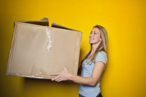 It's best to compartmentalize your things for the move and the easiest way to do it is by putting them in boxes